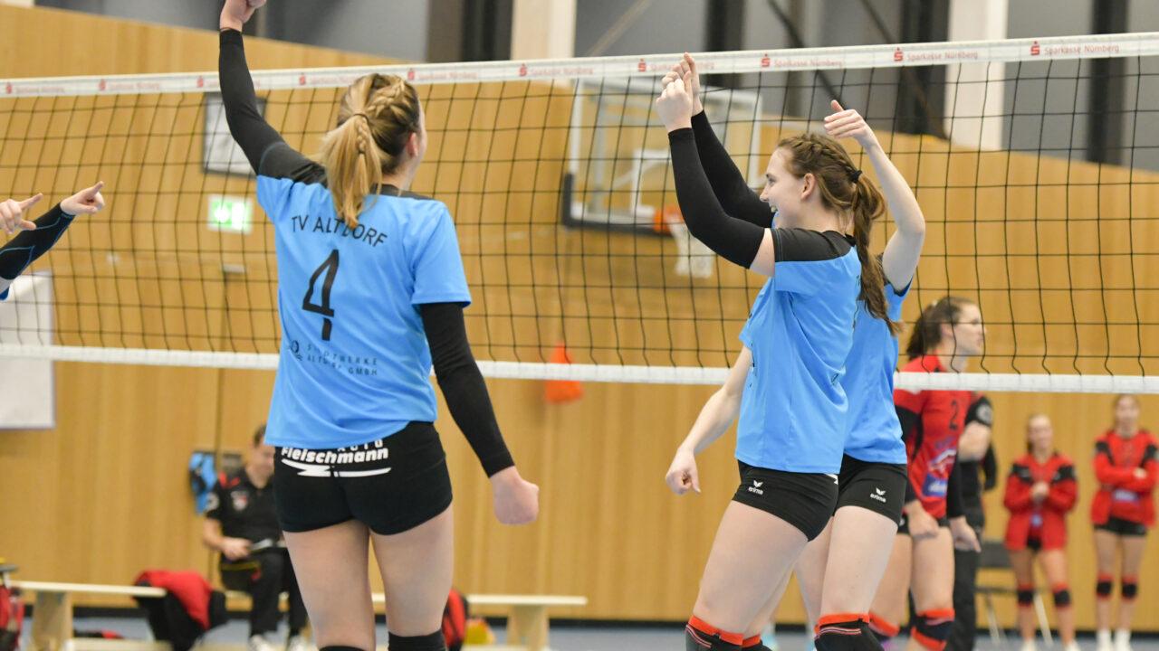 Volleyvallerinen könnten Meisterschaft klar machen